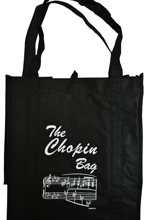 GROCERY CHOPIN TOTE BAG