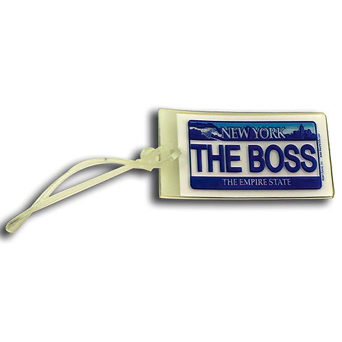 Soft Touch Bag Tag Feat. The Boss