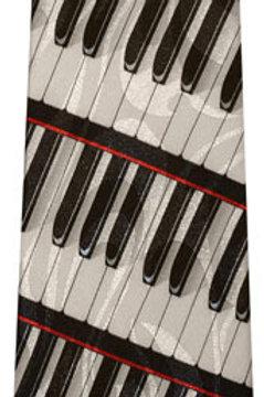 Spiral Keyboard Tie