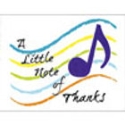 NOTE CARDS - NOTE OF THANKS (4.25 X 5.5) 8/BOX