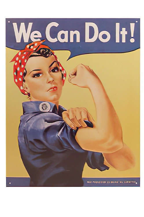 Rosie The Rivetor Sign