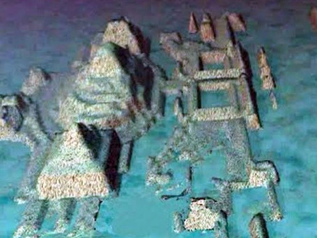 Deep Underwater City Off Coast of Cuba