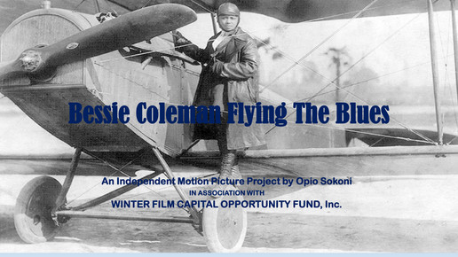 eBessie Coleman Flying The Blues Look Bo