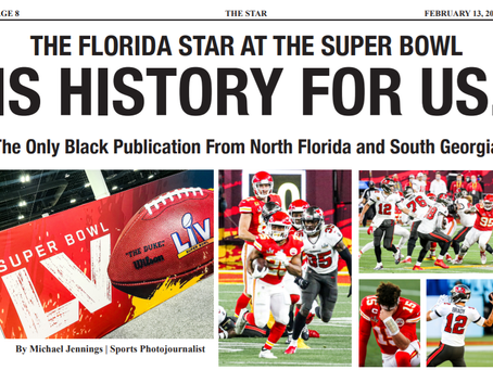 The Florida Star: Follow Super Bowl LV Action w/ Michael Jennings