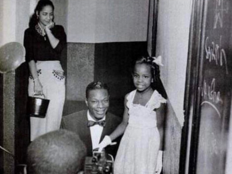 Gladys Meeting Nat King Cole