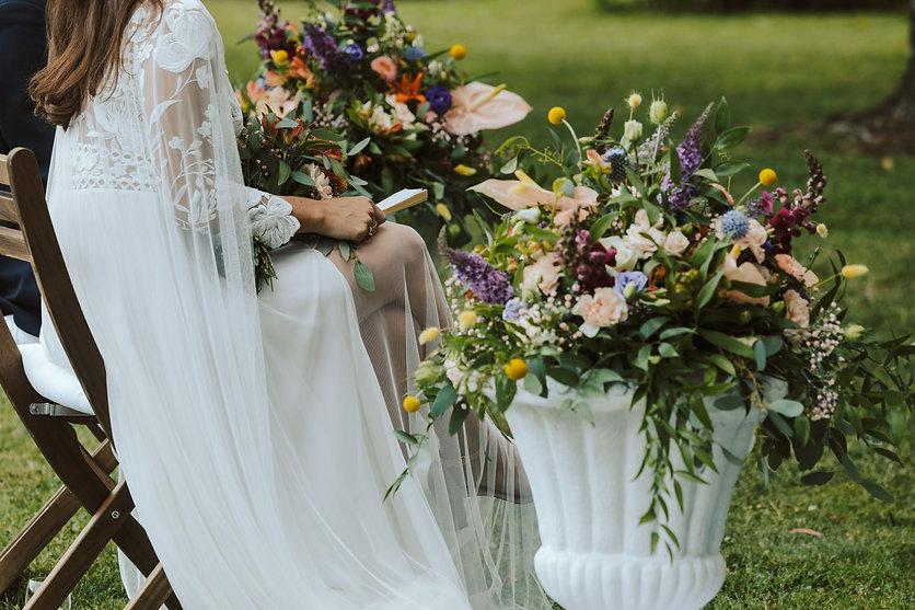 Allestimento floreale matrimonio Ticino. Foto by Andrea Rusconi
