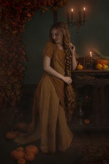 Représention de l'automne en décor d'intérieur