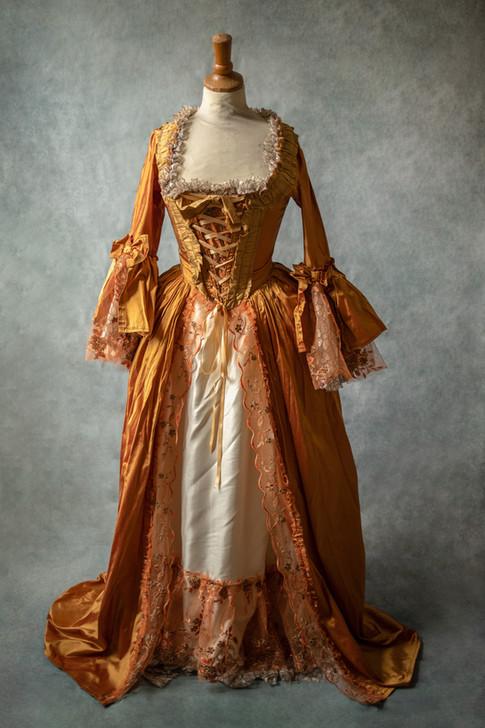 Robe inspiration d'époque Marie-Antoinnette