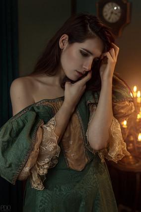Costume vintage romantique