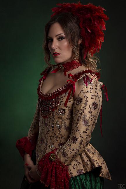 Portrait costume fantaisie