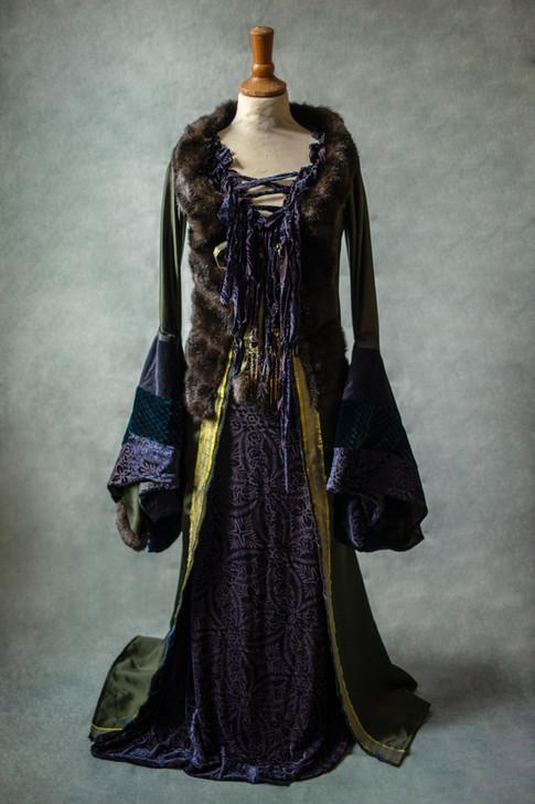 Costume fantaisie sorcière