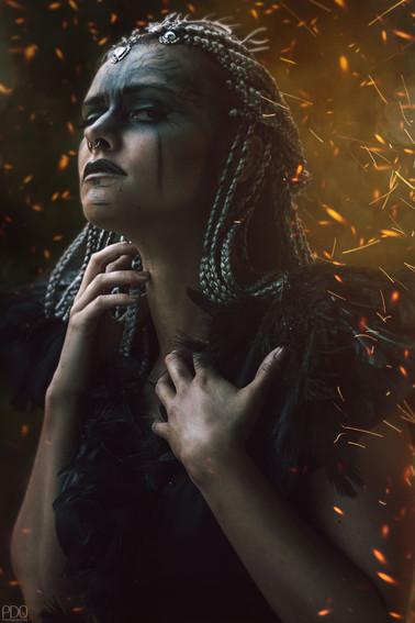 Sombre guerrière | Portrait