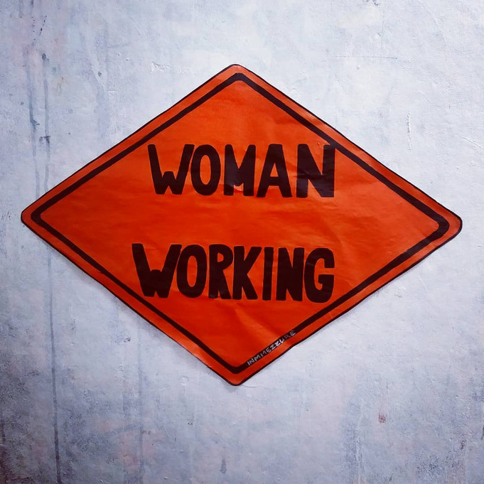 Woman Working