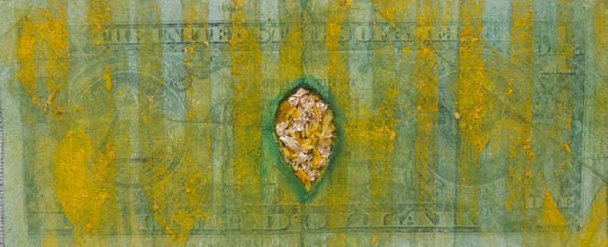 Mutilated Currency. Blood Gold