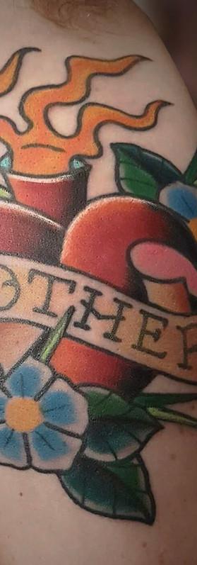 Scott eastlake traditional tattoo