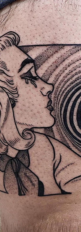 Phuckos Sydney tattoo Artist comic Art