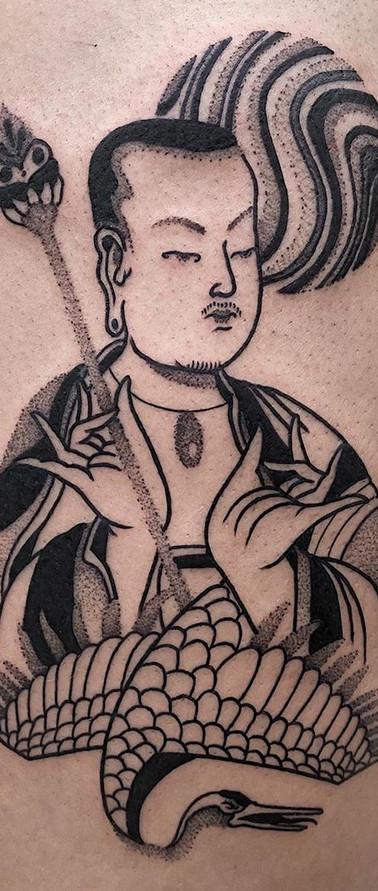 Phuckos oriental tattoo design Sydney