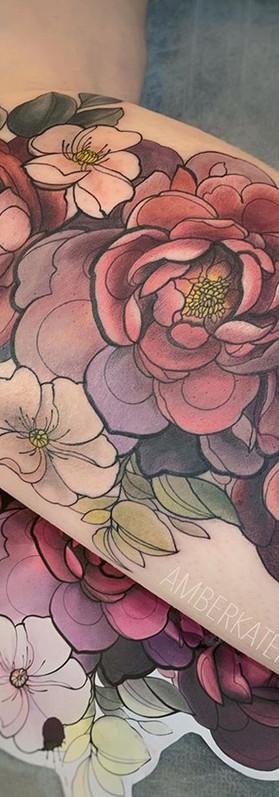 Best floral tattoo Artist Sydney