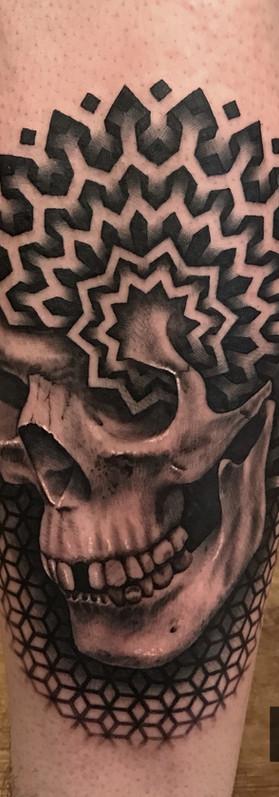 Patternwork blackwork tattoo ideas cool gothic