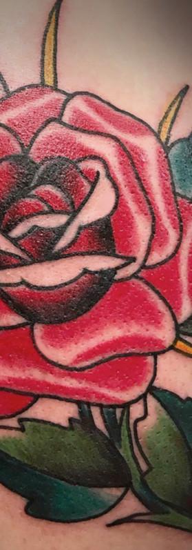 American rose tattoo