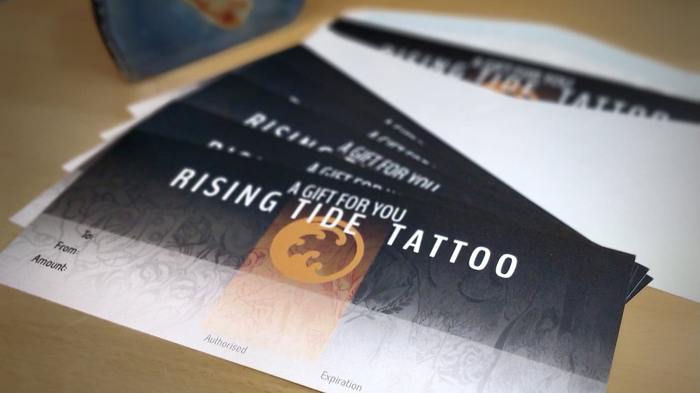 TATTOO VOUCHER