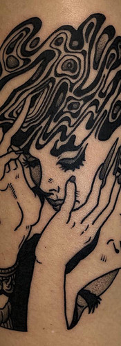 Phuckos Minimalist tattoo Artist Sydney