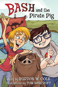 Bash, Pirate Pig cover, final front crop
