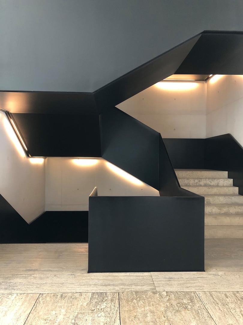 Escalier graphique - Mexico