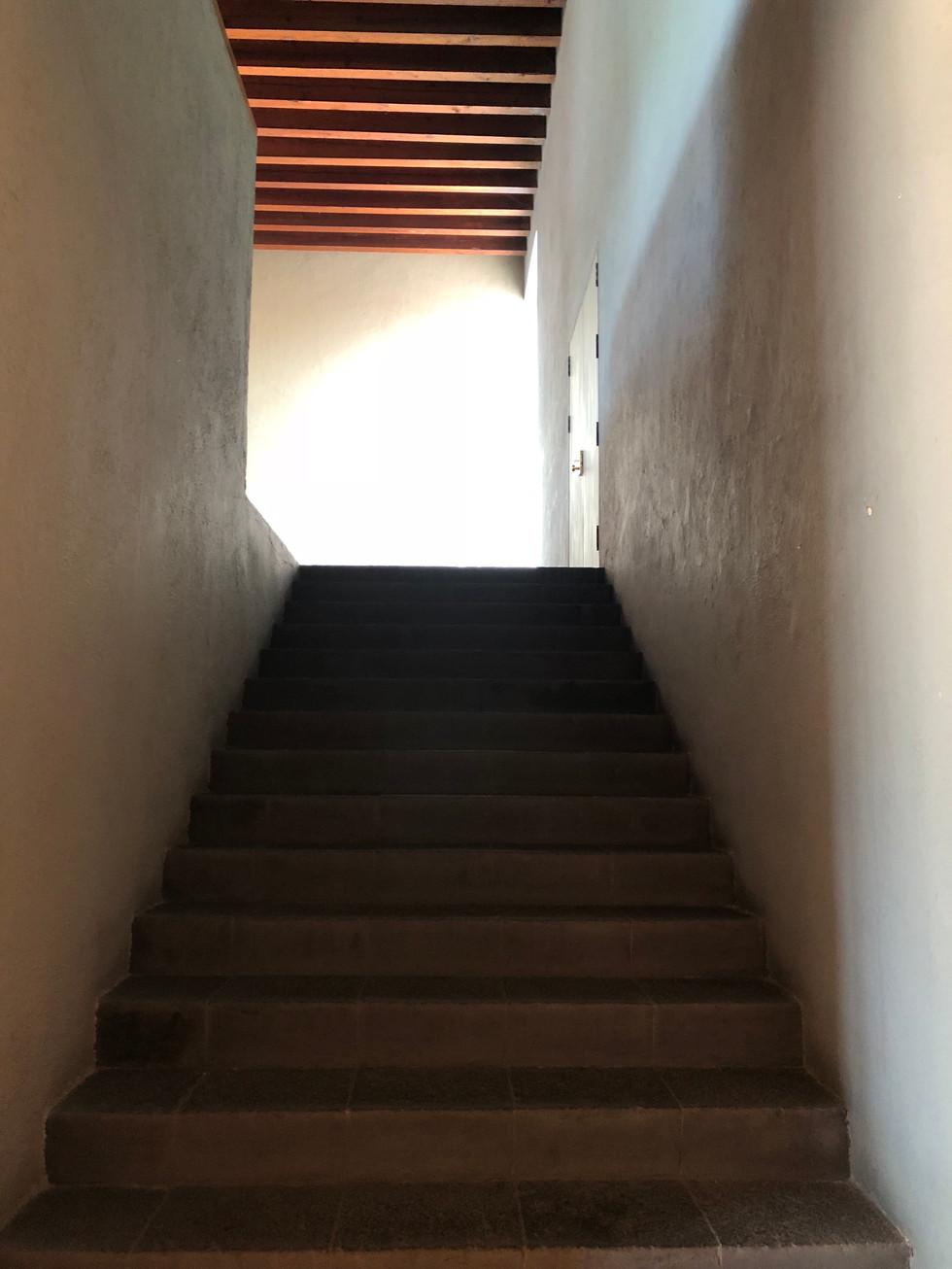 Escalier Casa Pedregal - Mexico