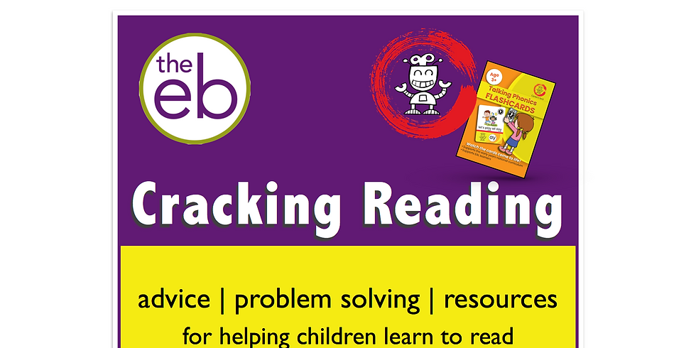Cracking Reading - free event for parents, carers and teachers