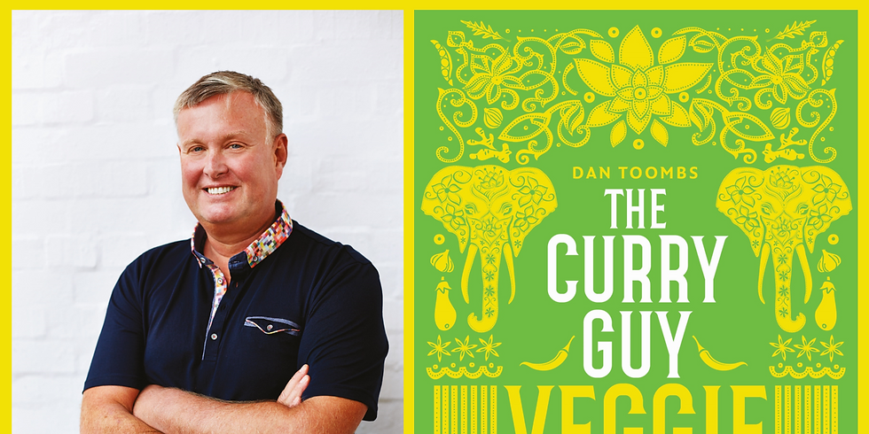 SOLD OUT! The Curry Guy Veggie - Tickets £7
