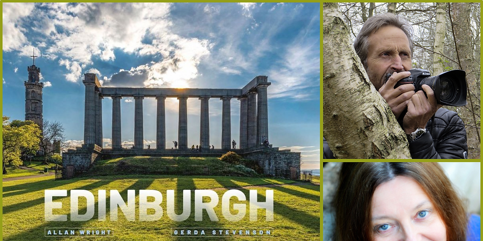 Edinburgh By Allan Wright and Gerda Stevenson: Book Launch - FREE Event