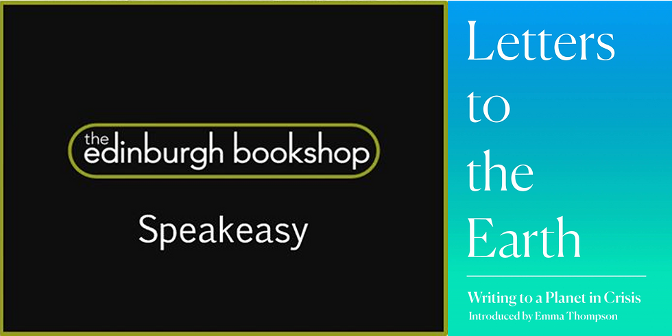 The Speakeasy with Simon Jay on Letters to the Earth - FREE Event