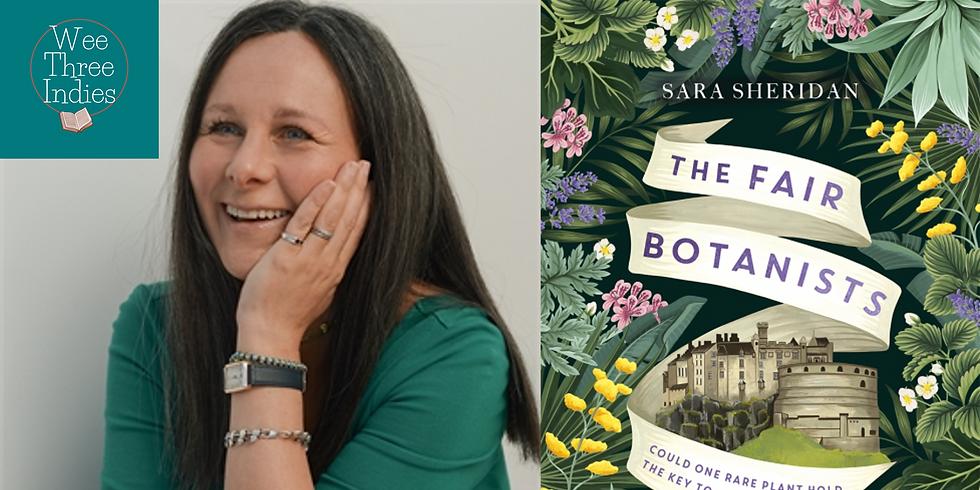 Virtual Event - Sara Sheridan: The Fair Botanists Book Launch
