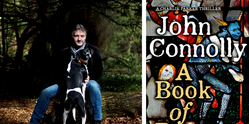 A Book of Bones - An Evening with John Connolly - Tickets £5