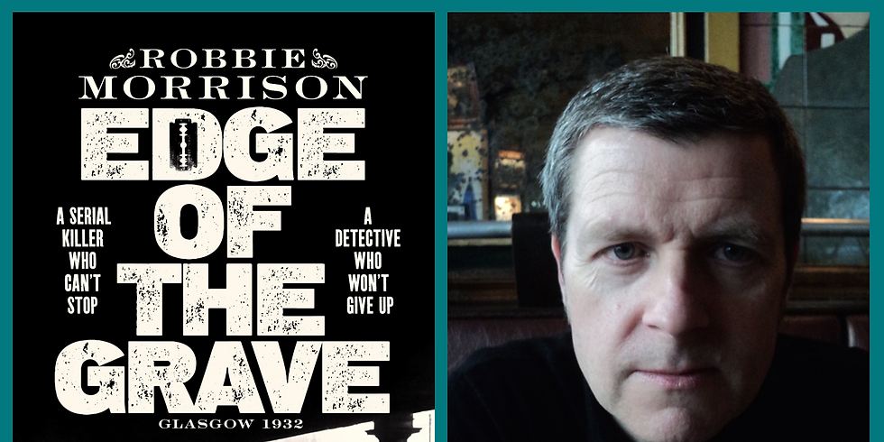 Book Launch: Robbie Morrison - Edge of the Grave