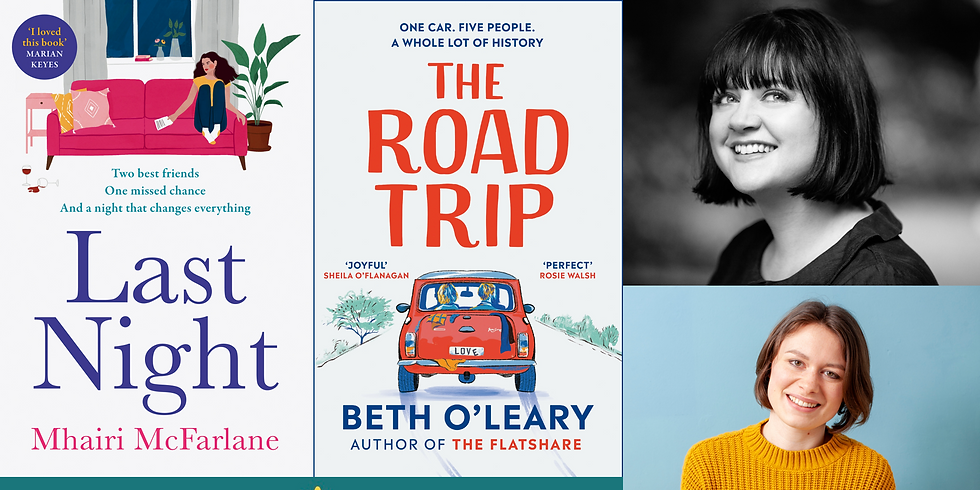 An Evening with Beth O'Leary and Mhairi McFarlane