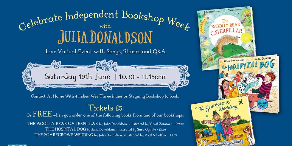 Julia Donaldson Celebrates Independent Bookshop Week