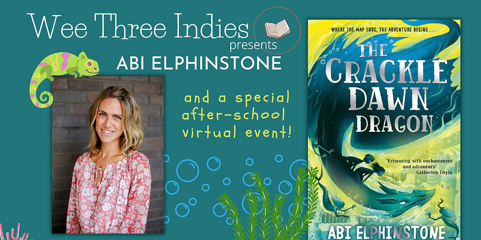 Abi Elphinstone and The Crackledawn Dragon