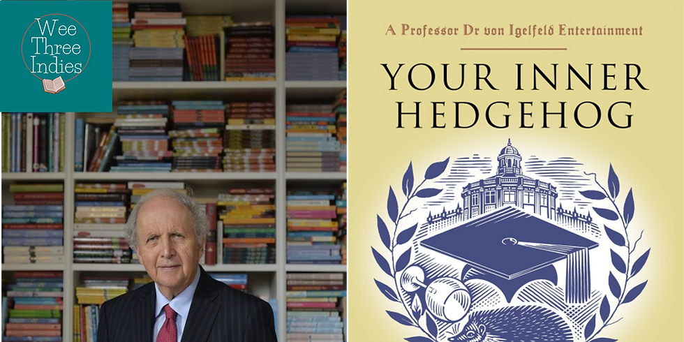 Book Launch: Alexander McCall Smith - Your Inner Hedgehog
