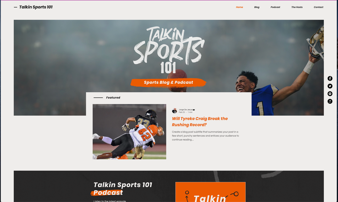 Talking Sport 101