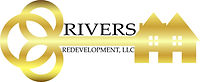 Client reviewo logo design fo Rivers Redevelopment, LLC.