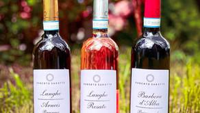 Mai-juin au balcon, Trio des Gourmets au Piémont!