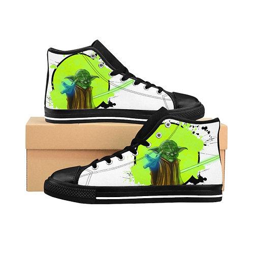 Yoda Art Men's High-top Sneakers