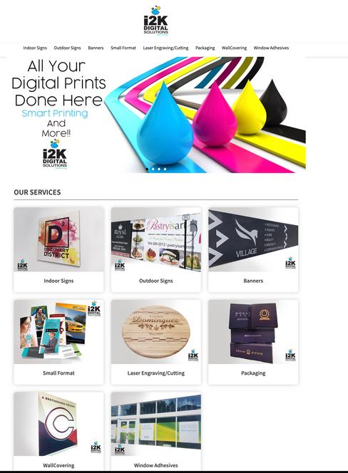 i2K Digital Solutions StoreFront