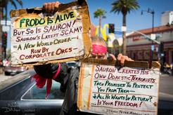 The Hollywood Boulevard doomsayer