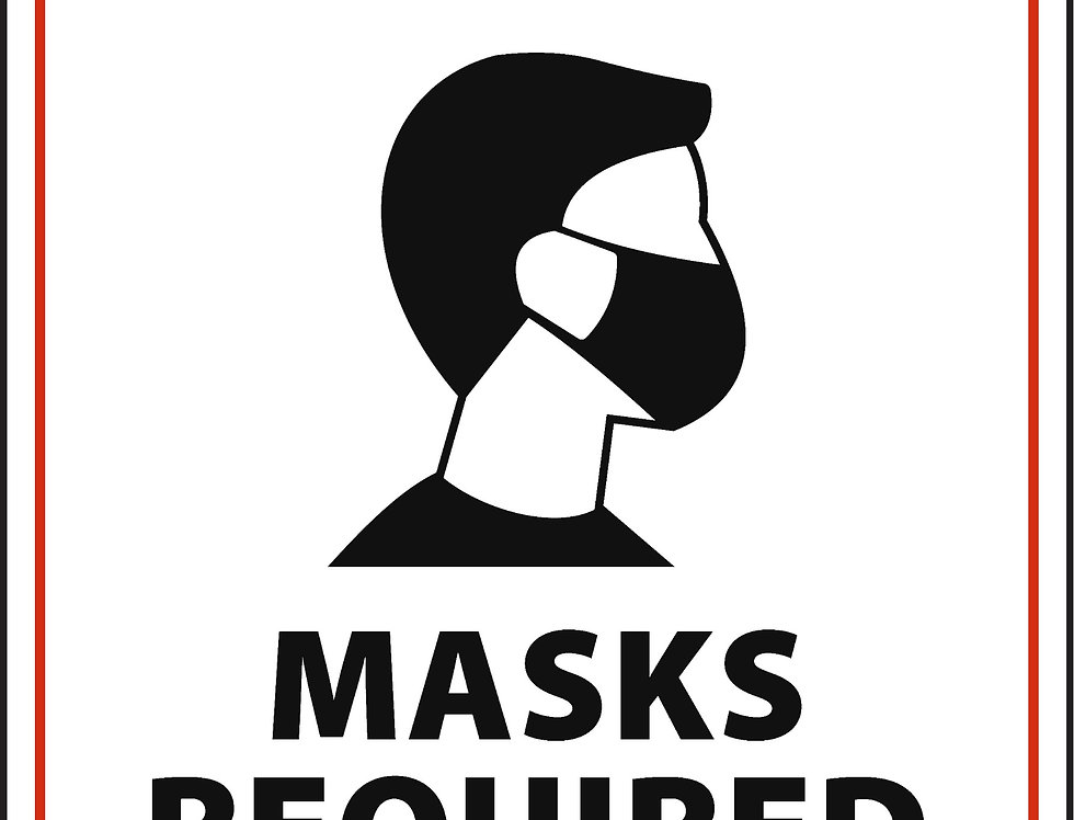 Mask Required Prevention Posters