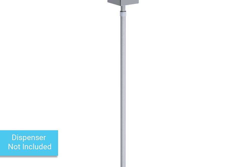 Pump dispenser stand for hand sanitizer -