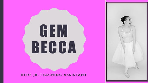 Bloom with RYYDE-Meet our team Gem Becca
