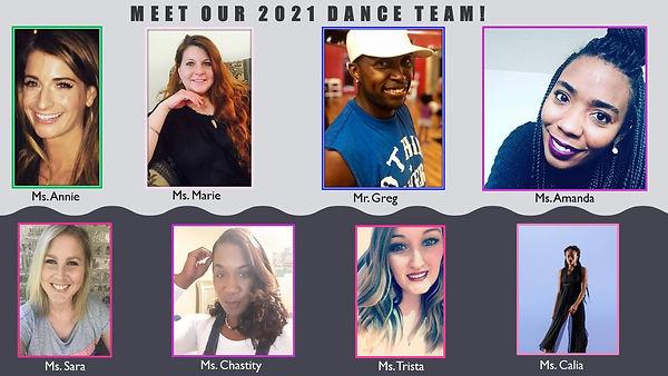 RYDE Dance Teacher Team 2021 Spring Seme